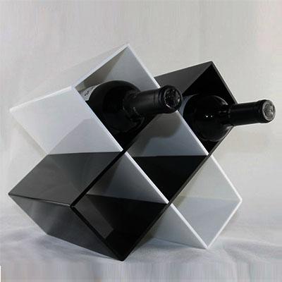 Custom acrylic display for Wine