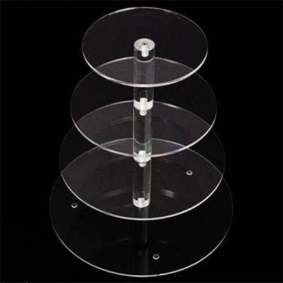 Acrylic round display stand