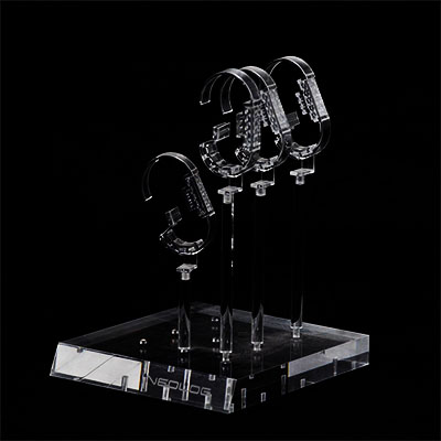 Acrylic display stand for bracelet
