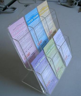 Plastic Leaflet Display Stand