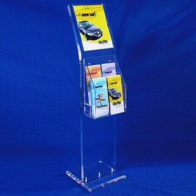 China acrylic brochure holders