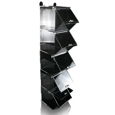 Item: Acrylic display stand with trays