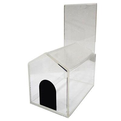 China custom acrylic display stand pets house
