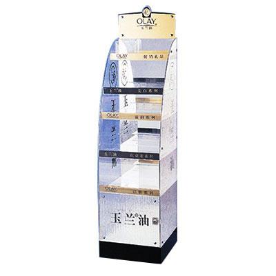 Custom made acrylic display stand shelf from Shenzhen