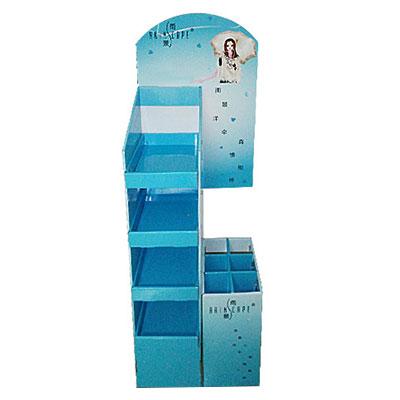 China custom acrylic free standing display unit