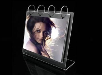 China custom photo acrylic frame