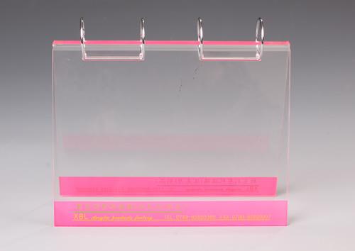 Acrylic display holder
