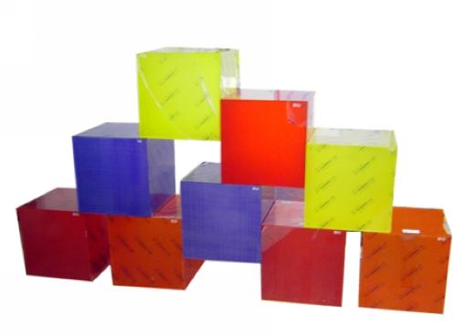 China acrylic display cube