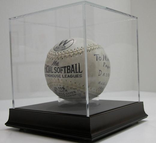 Exhibitional acrylic display box