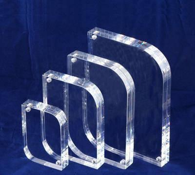 Clear acrylic photo frame 4×6,5×7 wholesale custom acrylic photo frame