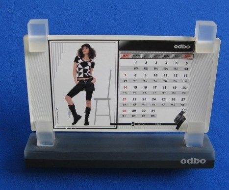 Custom acrylic Calendar holder