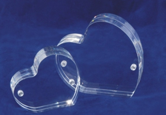 Heart Shape Acrylic Display Photo Frame Austria