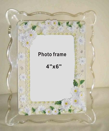 Customizied acrylic photo frame Dubai