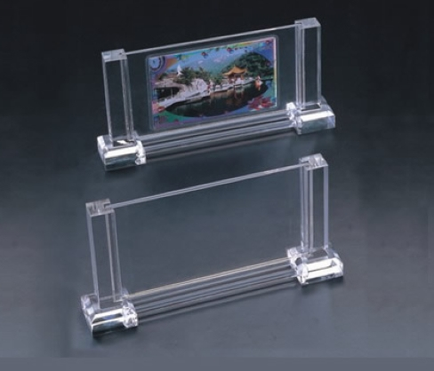 Crystal acrylic picture holder display UAE