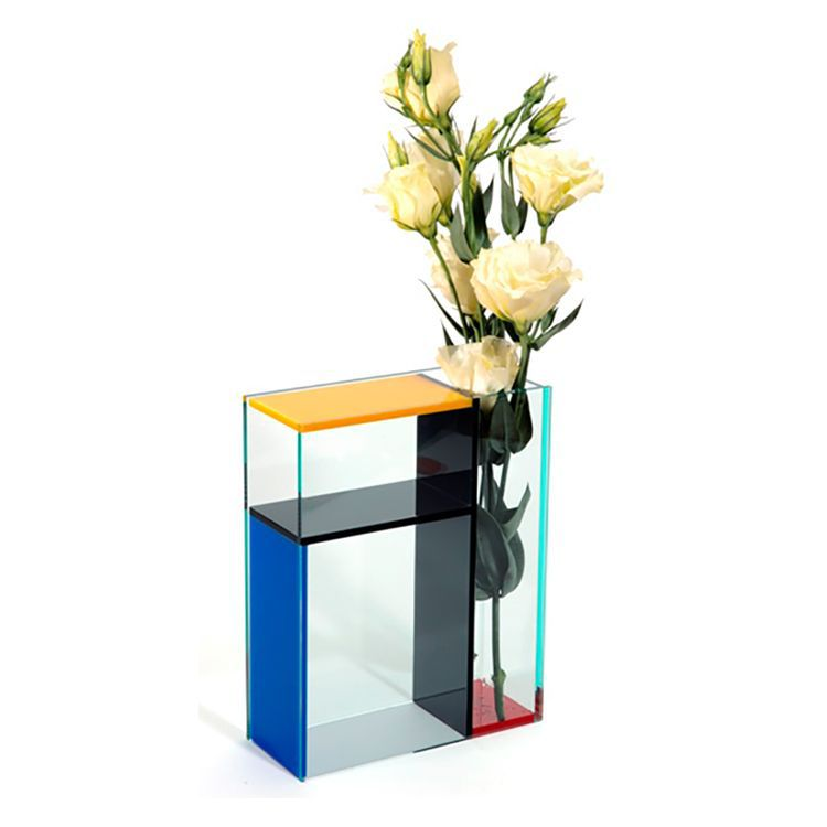 Customized Colored Acrlic Display Vase Wholesale
