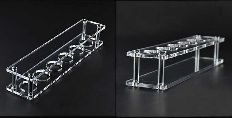 Acrylic Display Stand For Drinking Glass